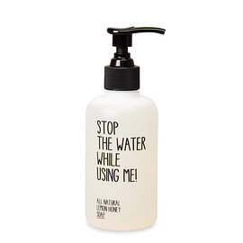 Stop The Water While Using Me! - Lemon honey soap 200ml
