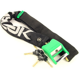 *HIPLOK* hiplok chain lock set (green)