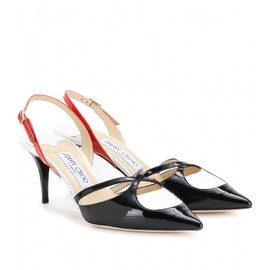 JIMMY CHOO - ADIOS PATENT-LEATHER PUMPS