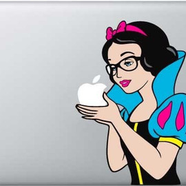 snow white macbook decal vinyl stickers for mac air/pro laptop 11/13/15/17 /ipad2/iphone