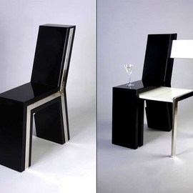 Creative unfolding chair design