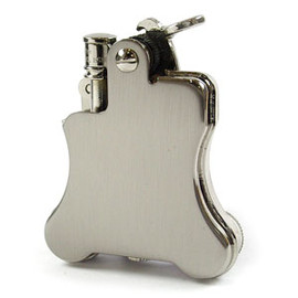 Ronson - banjor oil lighter silver