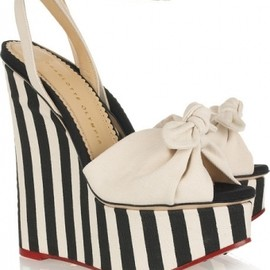 Charlotte Olympia - Charlotte Olympia OPEN TOE SHOES W/ANKLE STRAP