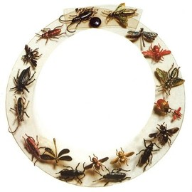 Schiaparelli bug necklace.