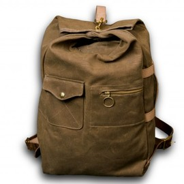 Collected Works Co., Tanner Goods - The Military Duffle Bag in Tan