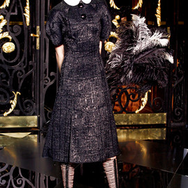Louis Vuitton - Fall 2011 Ready-to-Wear Black Dress