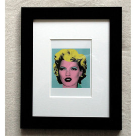Banksy - Kate Moss by Crude Oils (Post Card)