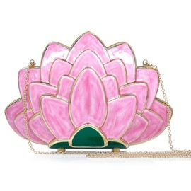 Charlotte Olympia - FW2014 Lotus Clutch
