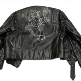 Keith Haring - Keith Haring Leather Jacket