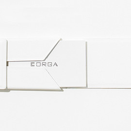 CORGA - CARD CASE - WHITE