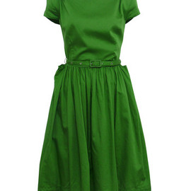 Vivienne Westwood Anglomania - Monroe-33 Green Dress