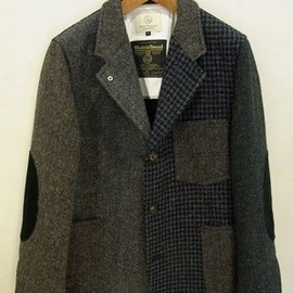 B&Y  - HARRIS TWEED CRAZY COVERALL