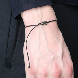 ROBERT GELLER - THIN BRAID BRACELET