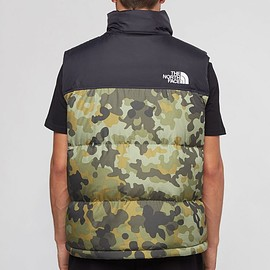 THE NORTH FACE - 1996 Retro Seasonable Nuptse Vest - Black/Camo