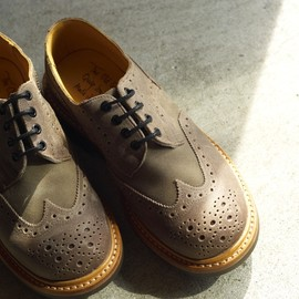The Old Curiosity Shop x Quilp by Tricker's - M7457(Derby Brogue)