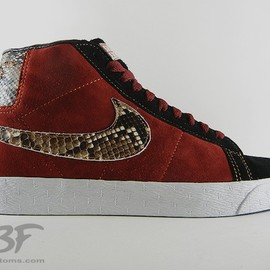 NIKE, JBF Customs - Jafar from Aladdin Blazer Snakeskin by JBF Customs