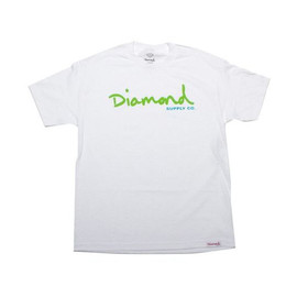 DIAMOND SUPPLY CO. - OG Script Tee (White)