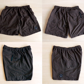 山と道 - 5-POCKETS SHORTS (CHOCOLATE BROWN)