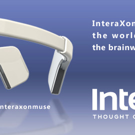 Interaxon - Muse: Brain-Sensing Headband (脳波バンド)
