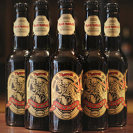 IRON MAIDEN, Robinsons Brewery - Trooper Red 'N' Black