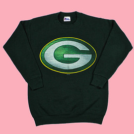 VINTAGE - Vintage 1996 Green Bay Packers Crewneck Sweatshirt WOMENS Size Small