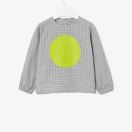 cos - GINGHAM PRINT TOP