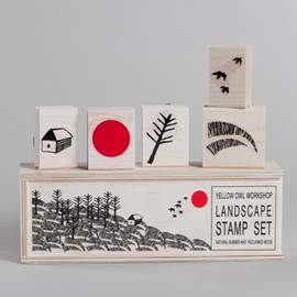 Yellow Owl Workshop - Landscape Stamp Set