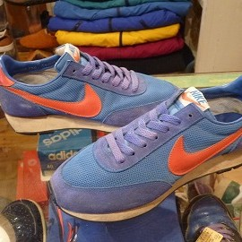 "NIKE - 「<used>70's NIKE LDV blue/orange""made in KOREA"" size:US7(25cm) 15000yen」完売"
