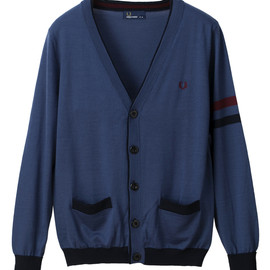 FRED PERRY - Lined Cardigan
