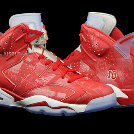 Nike - SLAM DUNK × NIKE AIR JORDAN VI RETRO VARSITY RED/VARSITY RED-WHITE