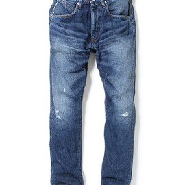 "nonnative - DWELLER 5P JEANS - COTTON 12.5OZ SELVEDGE DENIM VW ""BEE"""