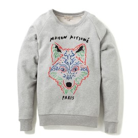 MAISON KITSUNÉ - 3D FOX SWEATER