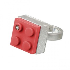 LEGO - High Profile Square Photo-etched Ring