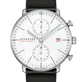 JUNGHANS - WG Max Bill by Junghans Chronoscope  100 Years Bauhaus