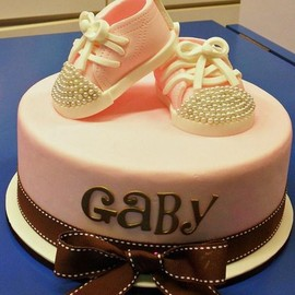 party! - Baby Shower Cake Shoes