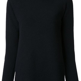 open knit detail jumper