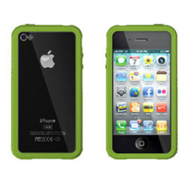 XtremeMac - iPhone 4 Green Microshield Accent Case