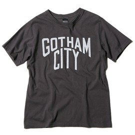 NUMBER (N)INE - GARMENT DYE T-SHIRTS_GOTHAM CITY