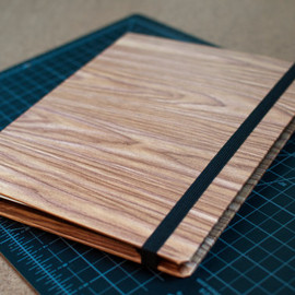 cdadamo - Woodgrain Oak Tablet Cover Case Folio iPad Slate Nook Kindle