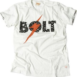 BEAMS - melple x Lightning Bolt / BOLT TEE