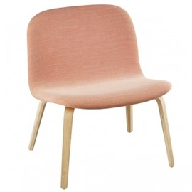 Muuto - Visu lounge chair, upholstered, oak