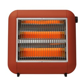 ±0 - Infrared Electric Heater (Red)