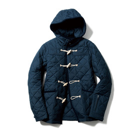 SOPHNET. - QUILTING DUFFLE BLOUSON/NAVY