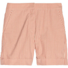 Stella McCartney  - Striped cotton-seersucker shorts