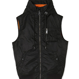 1017 ALYX 9SM - HOODED MA-1 VEST