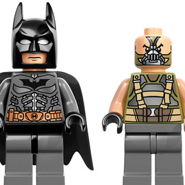 LEGO - The Dark Knight Rises x LEGO Minifigures   Batman & Bane