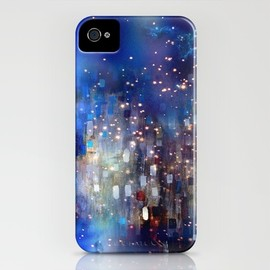 csera surface design - Goldrops I iPhone Case
