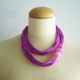 Luulla - Pink necklace