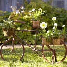 Pottery Barn - Bicycle Planter