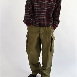 VINTAGE - french military M-47 pants 1953 deadstock 23 前期